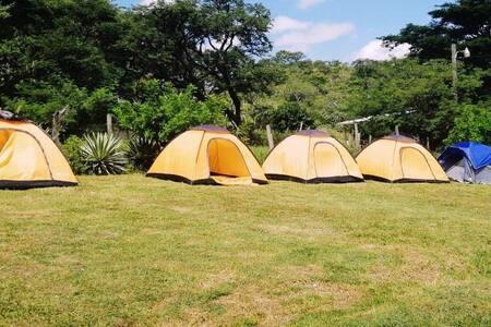 Bello Camping al aire libre en Piedra Gorda-Lamaní