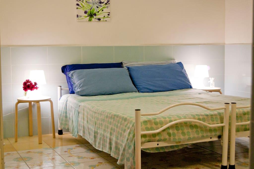Camera da letto (letto matrimoniale)