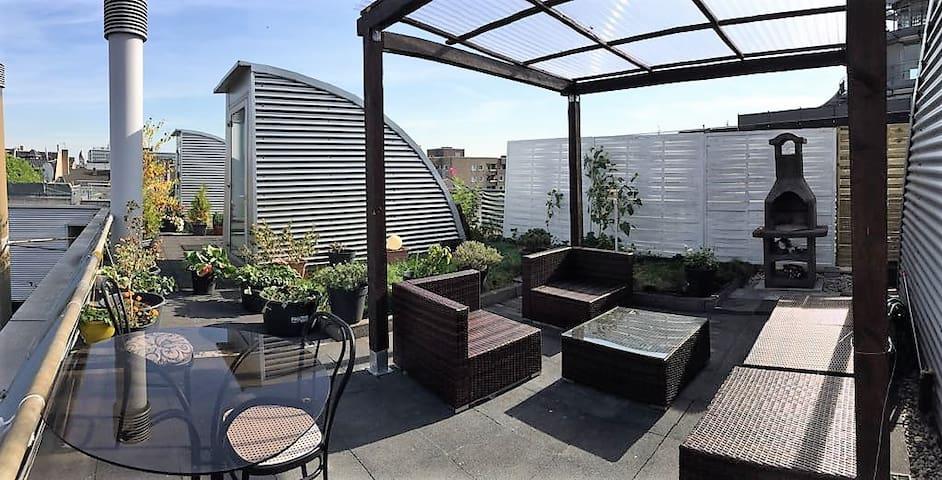 Wundervolles Apartment mit Dachterasse
