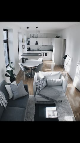 Moderne leilighet i sentrum.
