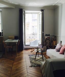 Appartement de charme, Batignolles