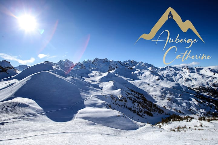 Auberge Catherine- Chalet dans les Alpes