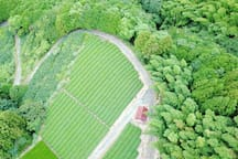 Yui Valley surroundings - A look From the Sky. (this is not our house)