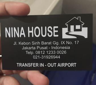 Nina House-Kebon Sirih, Jaksa.Room5 - Jakarta