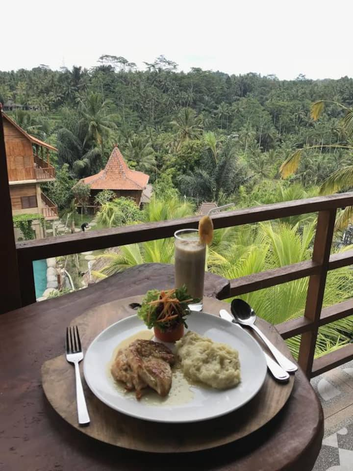 Rooms with great view in Ubud