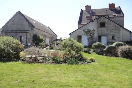 gite rural pour se ressourcer - Missy-aux-Bois - 自然地形を利用した家