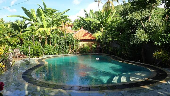 Hibiscus house guesthouse Pemuteran