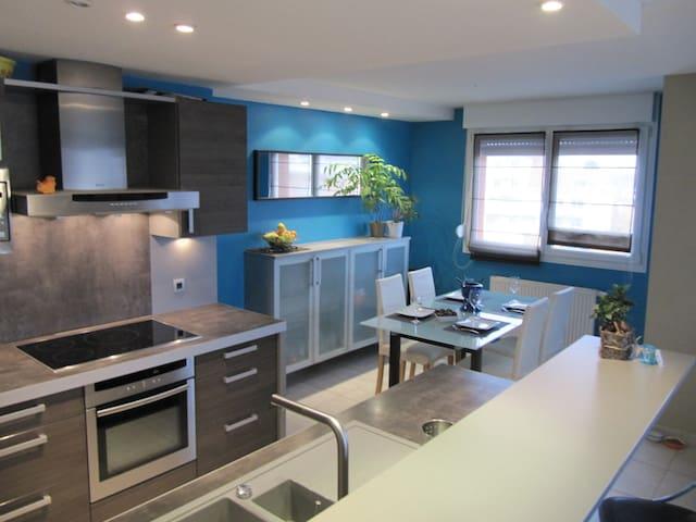 Calme et spacieux 3pièces attique - Illkirch-Graffenstaden - Apartmen