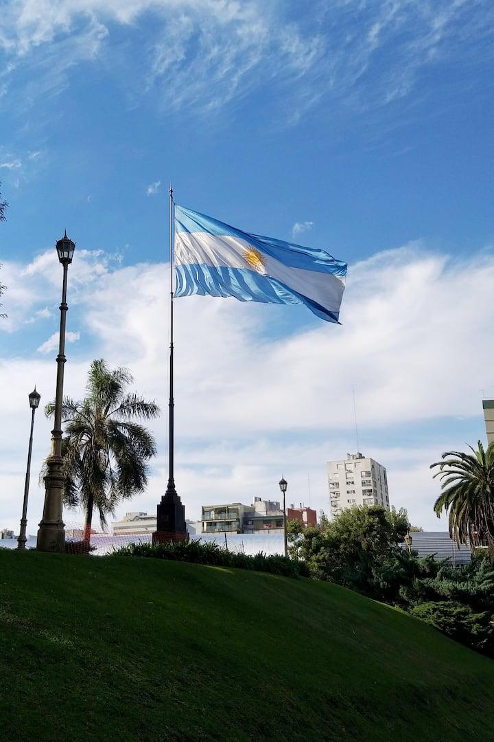 Argentinian Flag Monument