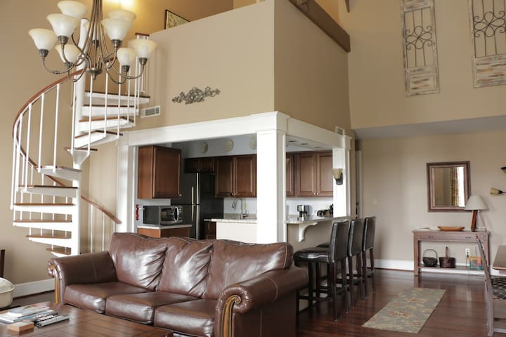 Beautiful loft in the Historic District! 195