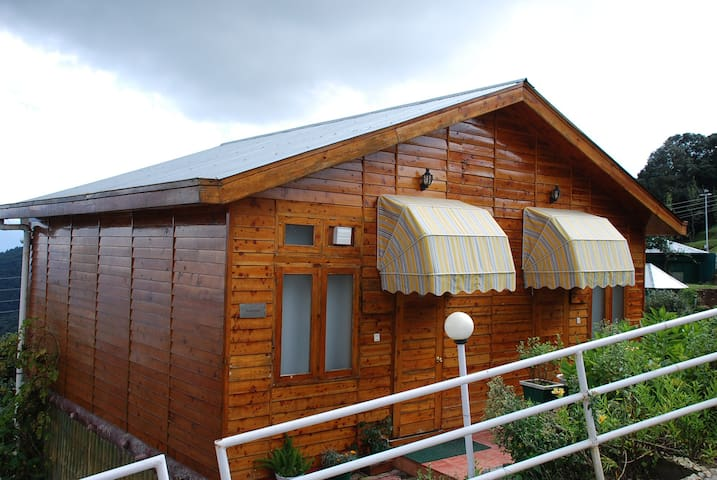 Wood Stock ( Log Hut ) Cottage - Chail - Boutique-hotelli