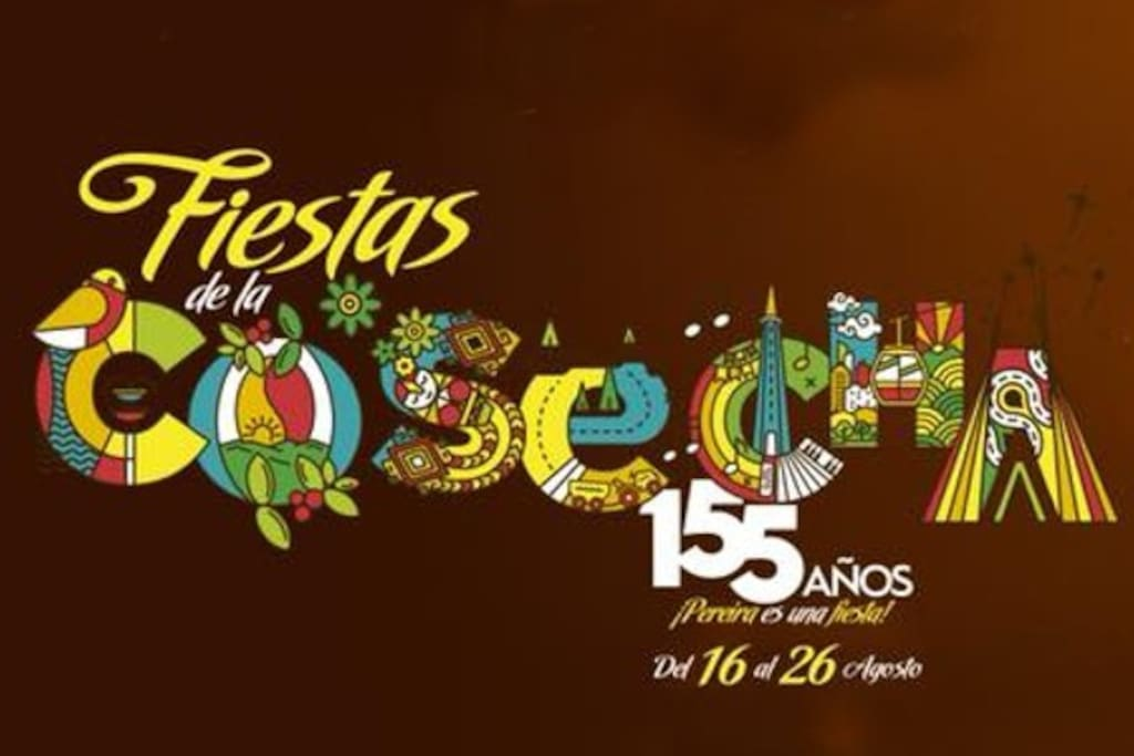 Harvest celebrations in Pereira   - 16th to 26st August 2018