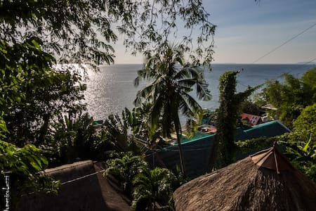 Tropical Rest House with Ocean Views - Mabini