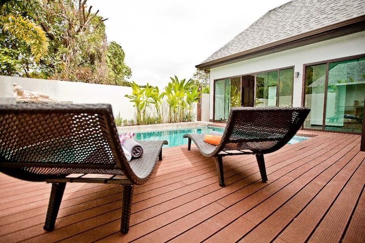 NEW BRAND COZY PRIVATE VILLA ON PHUKET