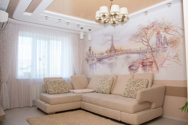Large 2-floor apartment near to Kiev Airport