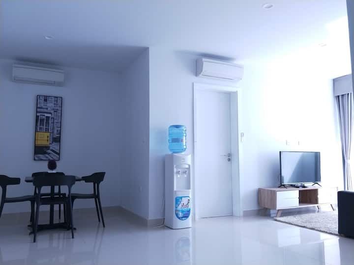 2BR Good Views High Floor Newly Renovated Fully AC