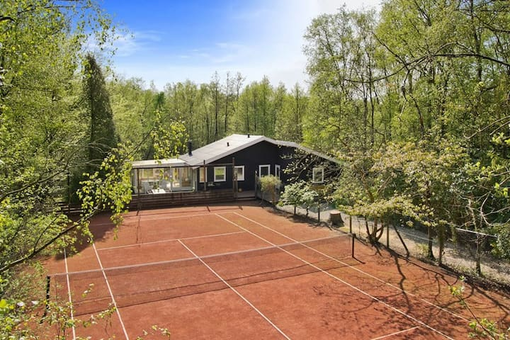 Dejligt sommerhus i skovområde - Langesø - Cabana
