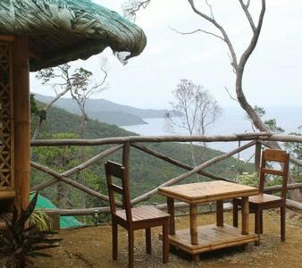 Bamboo House nagtabon beach