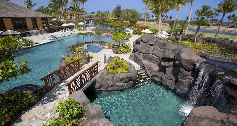 Hilton Kings' Land resort! - Waikoloa Village - Byt