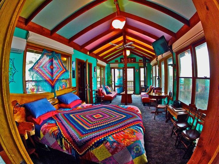 'The Upstairs' at Kookaburra Cottages Retreat