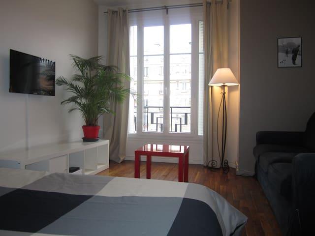 Modern&Cozy Parisian Studio. - Paryż - Apartament