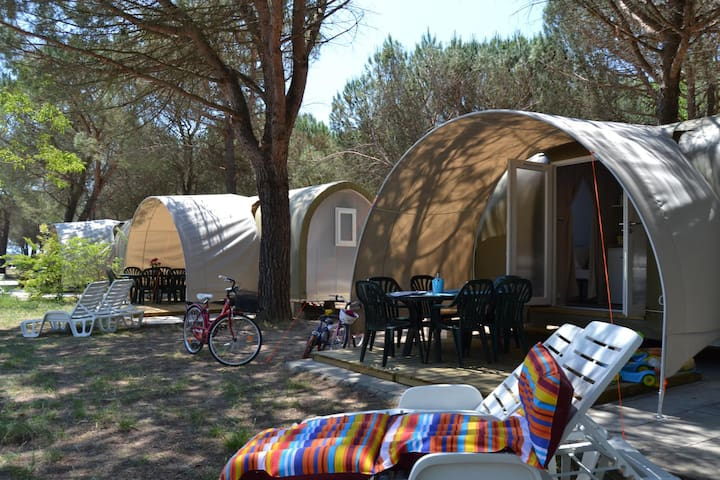Glamping Camping in Umbria - Coco Tent