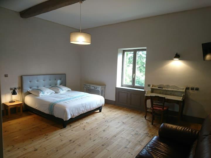 Grande Chambre, en gîte, 2 couchages