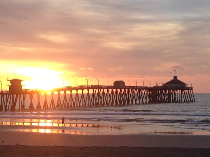 Imperial Beach Pier Sunset