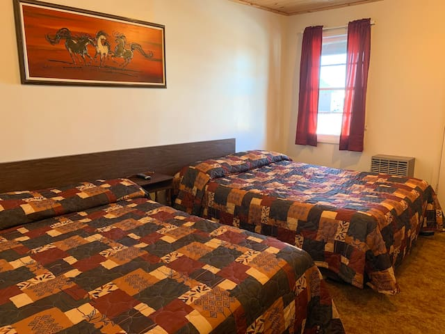 Wagons West Double Room