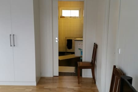 Nice room with own bathroom - Trondheim - Casa
