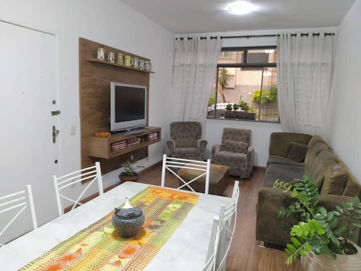 Apartamento charmoso no coração da Cidade Nova