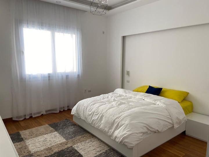 Minimal warm and cozy room