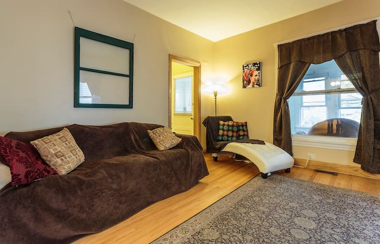 Cozy room near Downtown Evanston - Evanston - Casa