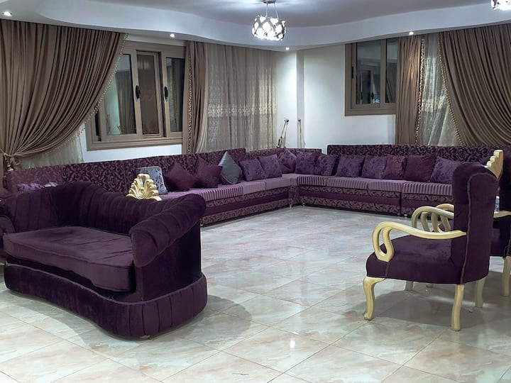 Whole floor in Villa in New Cairo
