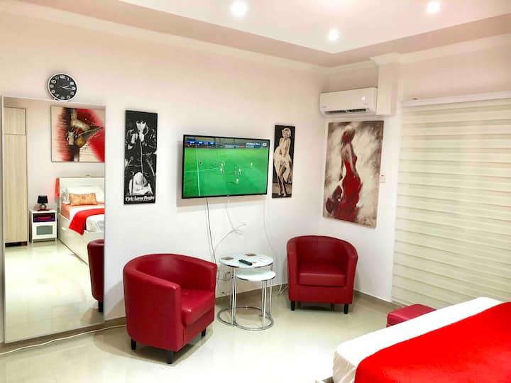 PAPHOS GARDENS HOTEL  new Luxury  studio Suite