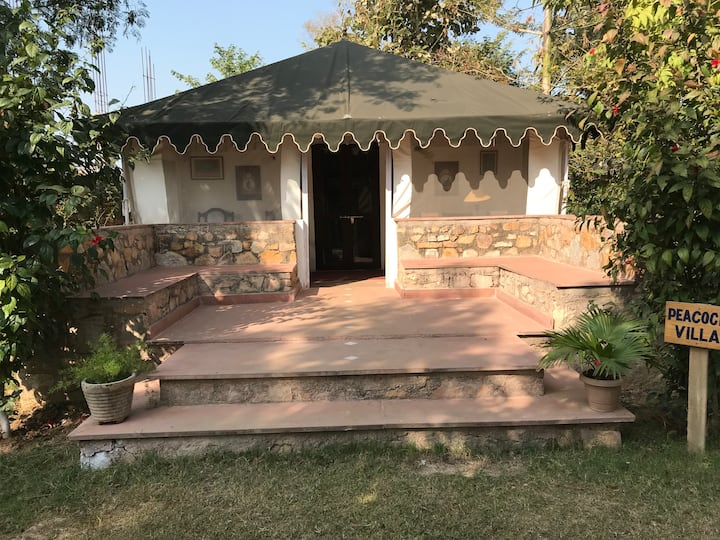 Cottage Tent in Farm | 7 kms to Ranthambore Fort