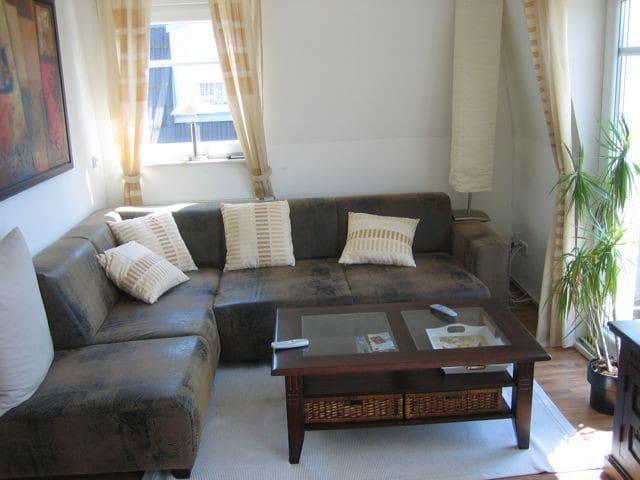 Schöne möblierte 3-Zimmer-Wohnung in Wolfsburg - Wolfsburgo - Apartamento