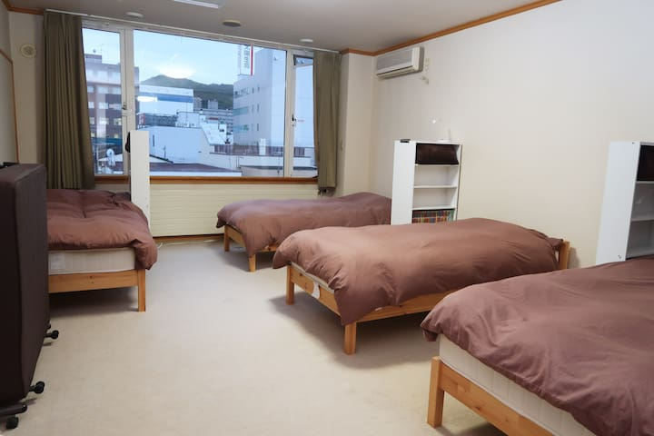 Otaru Ekimae Guest House Ito Male Dormitory Room