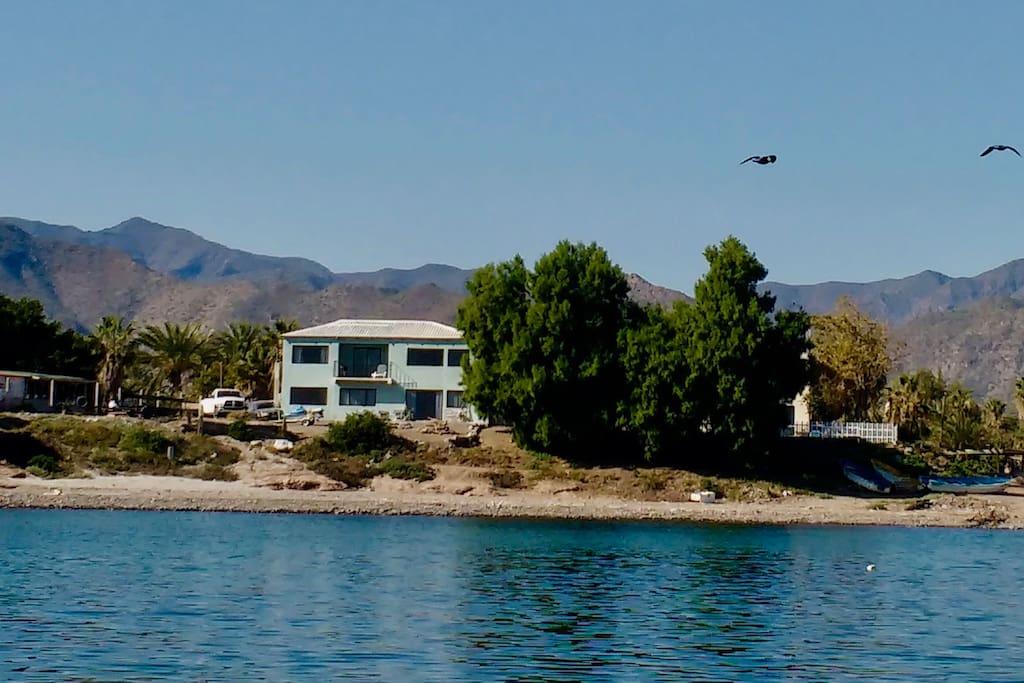 Beachfront villa san bruno bcs mex apartments for rent for Villas san bruno