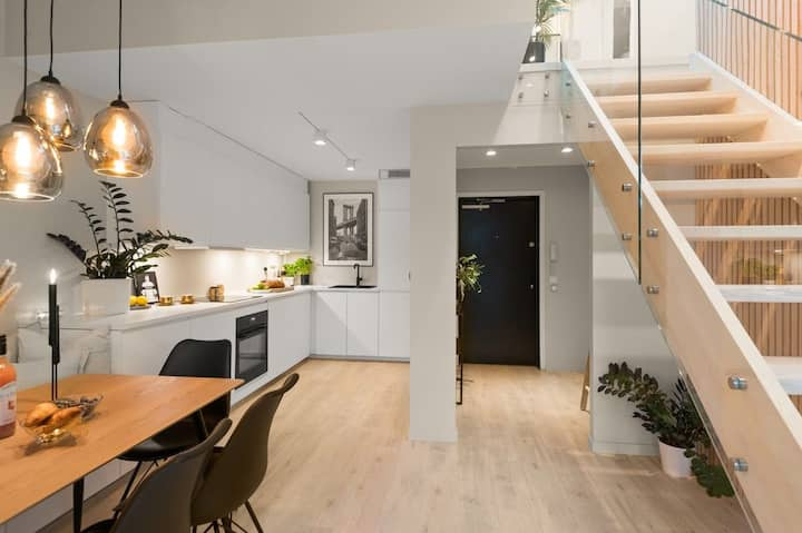 Fabulous Top Floor Apartment in the heart of Oslo