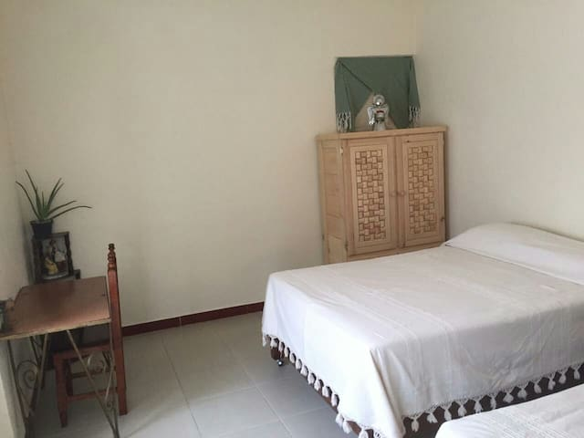 Private room with bathroom downtown Oaxaca.