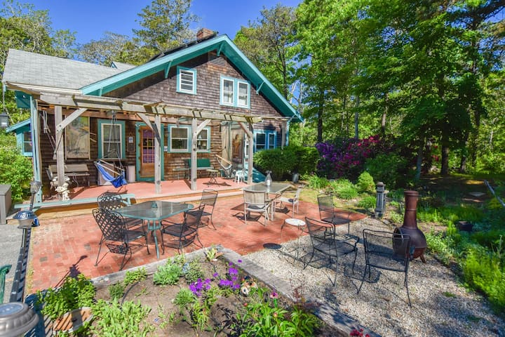 #522: Minutes to Nauset Beach, Walk to Meeting House Pond, Game Room!