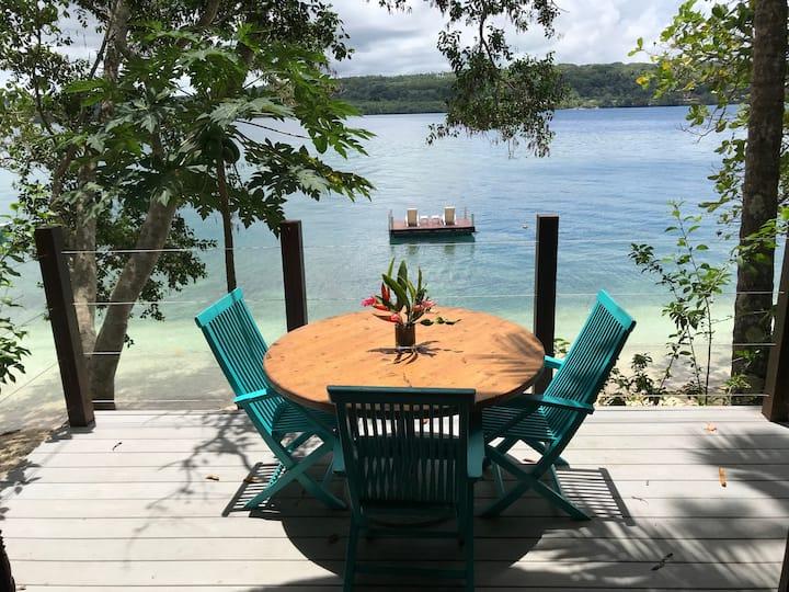 Exclusive beachfront bungalow