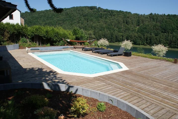 "Villa ""Grand Coo"" **** pool and jacuzzi 7p + 1baby - Stavelot - House"