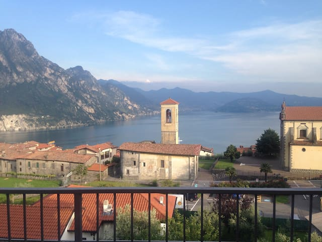 Perfect flat in the beautiful place - Riva di Solto - Lägenhet