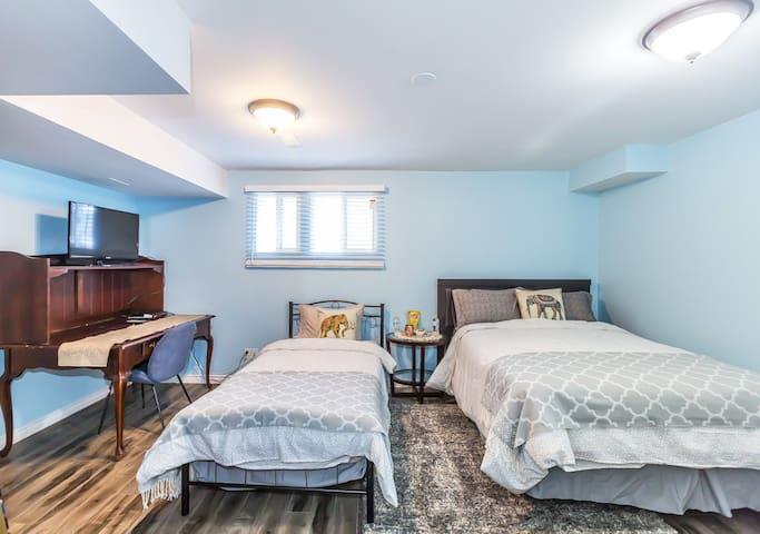 Spacious triple room