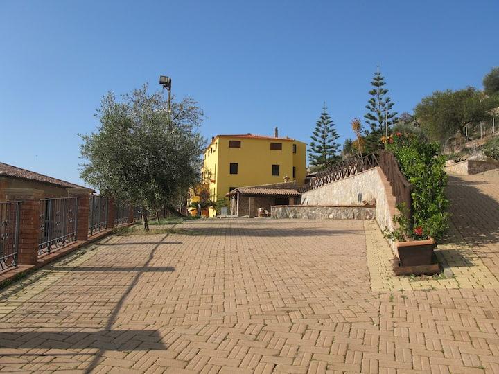 Panoramica strutture rurale