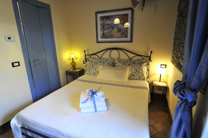 Le Terrazze (beautiful room,garden, town center )