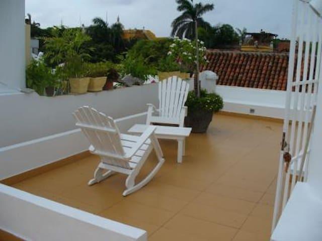 Ocean in front,Flat for 6 people,AC, WIFI - Cartagena - Huoneisto