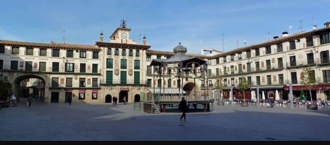 PISO DOS BALCONES EN TUDELA - Tudela - Apartemen